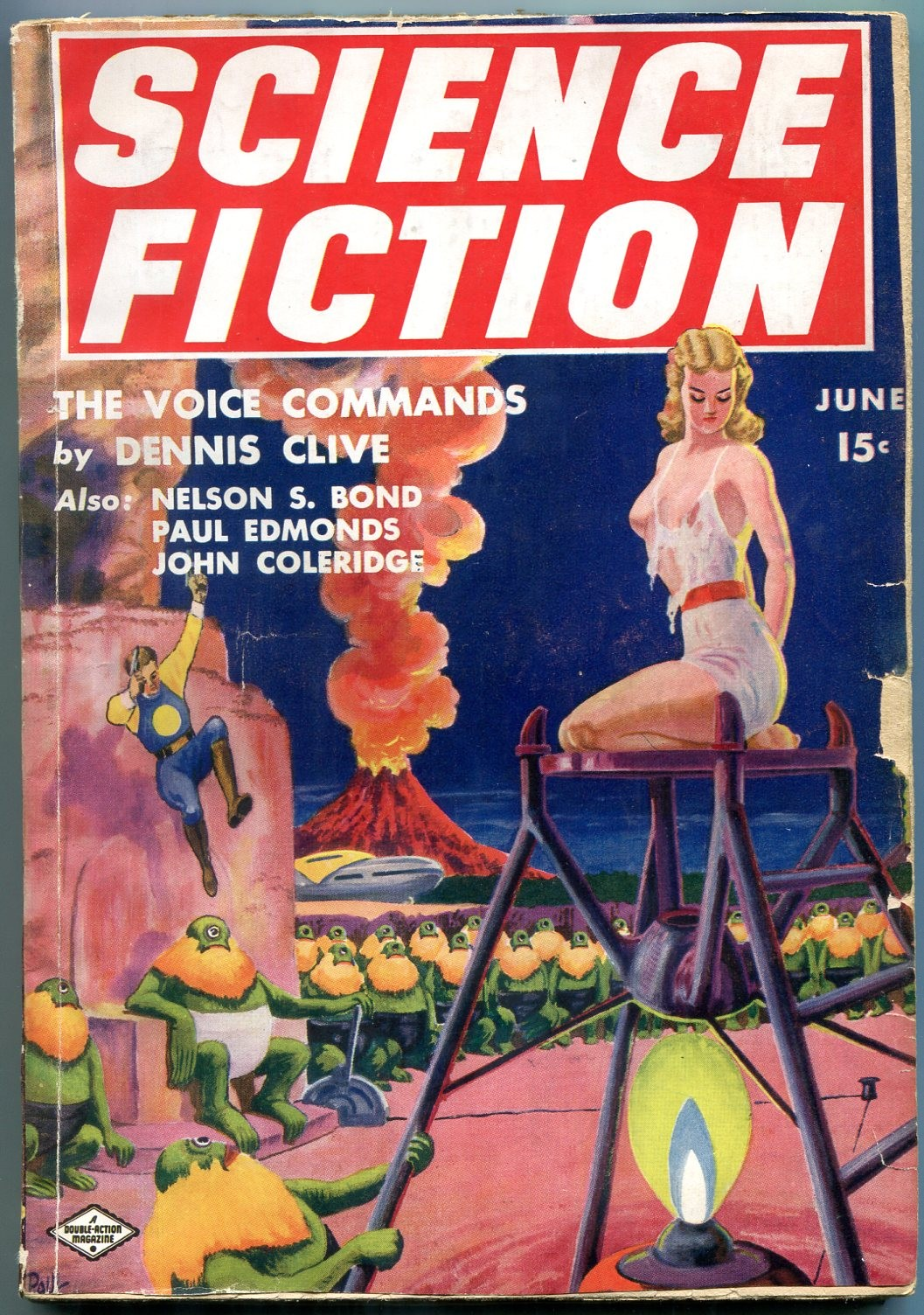 The Voice Commands · Science Fiction June 1940