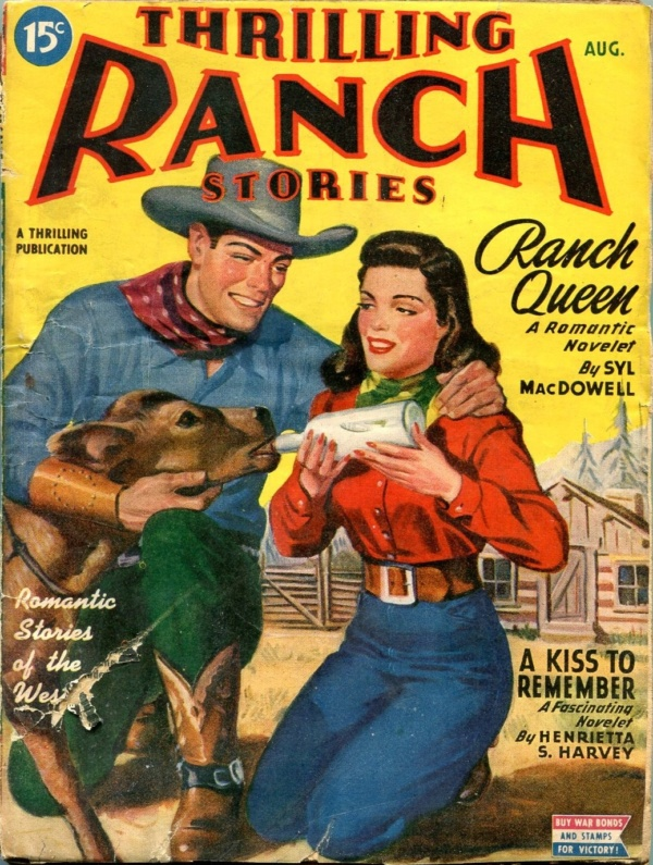 Thrilling Ranch Stories August 1945