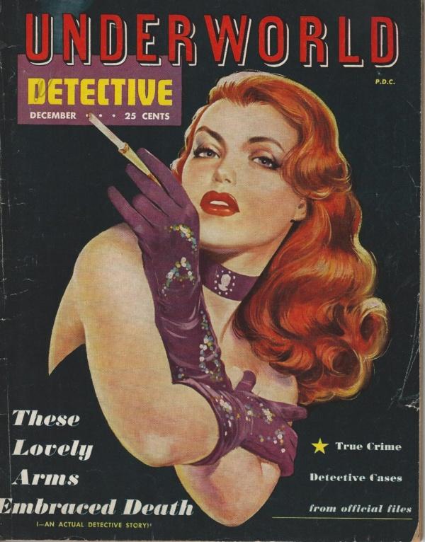 UNDERWORLD DETECTIVE December 1951