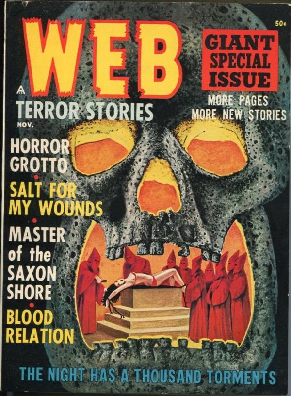 Web Terror Stories November 1964