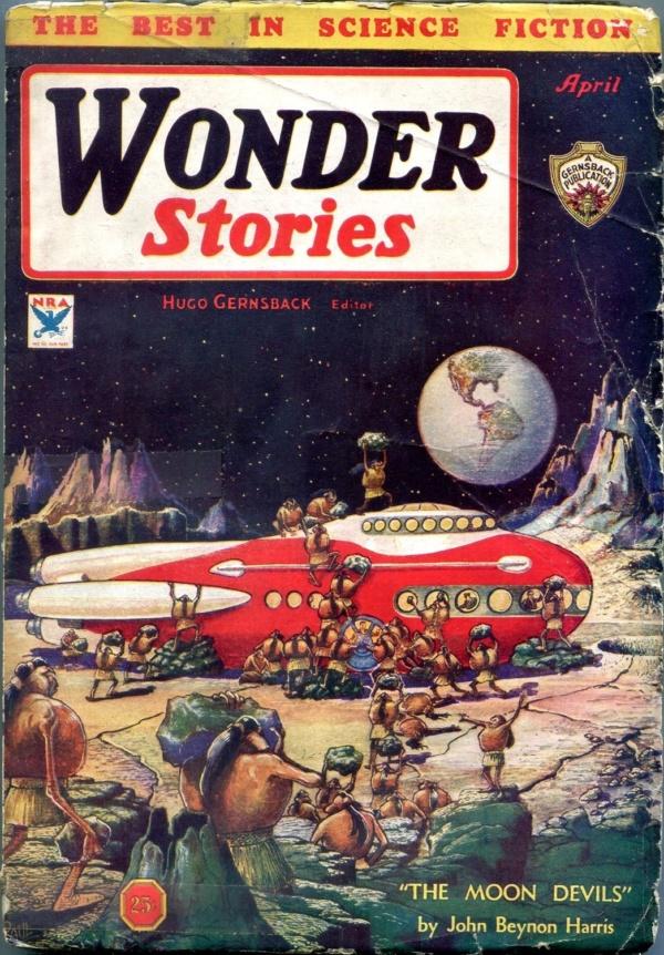 Wonder Stories April 1934