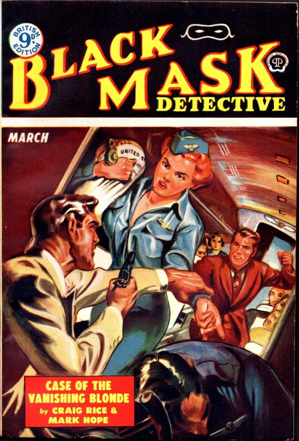 BLACK MASK DETECTIVEU.K.Ed.March 1953
