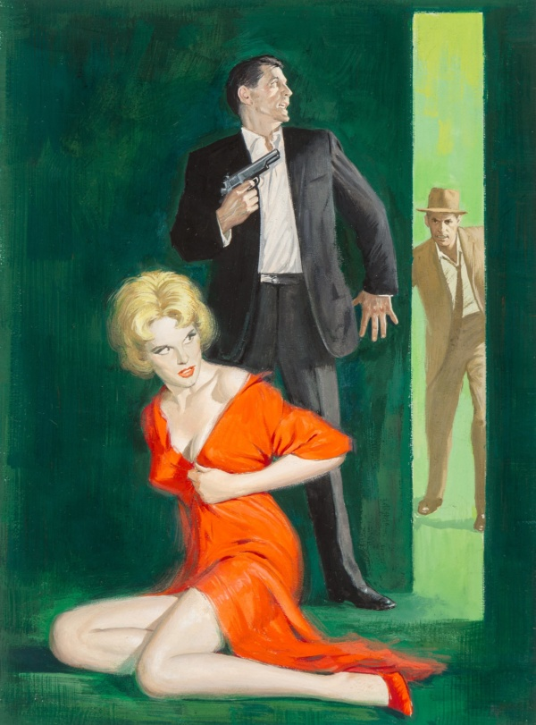 cover-of-the-hunt-club-by-norman-daniels-pyramid-1964