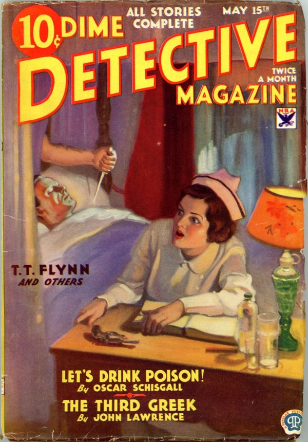 DIME DETECTIVE MAGAZINE. May 15, 1934