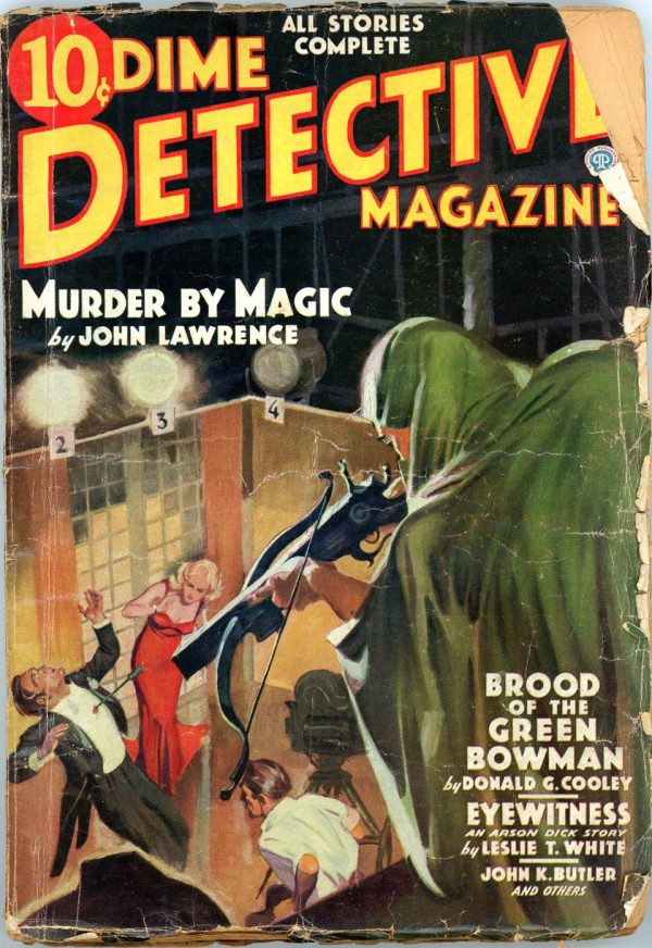 DIME DETECTIVE MAGAZINE. May 1936