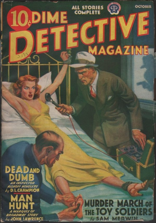 Dime Detective 1939 October
