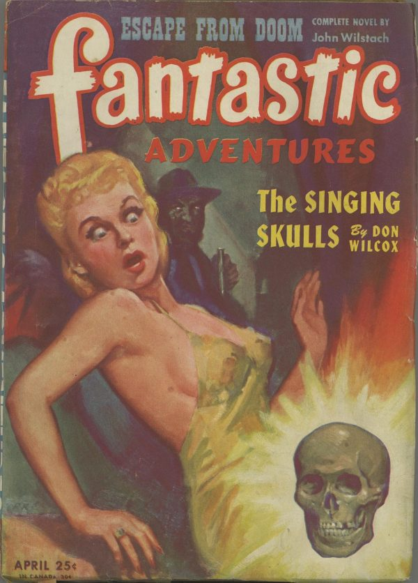 Fantastic Adventures April 1945