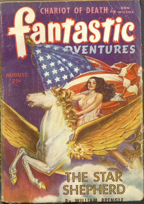 Fantastic Adventures August 1943