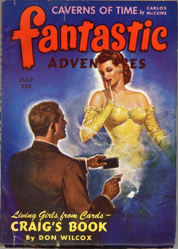 Fantastic Adventures July 1943