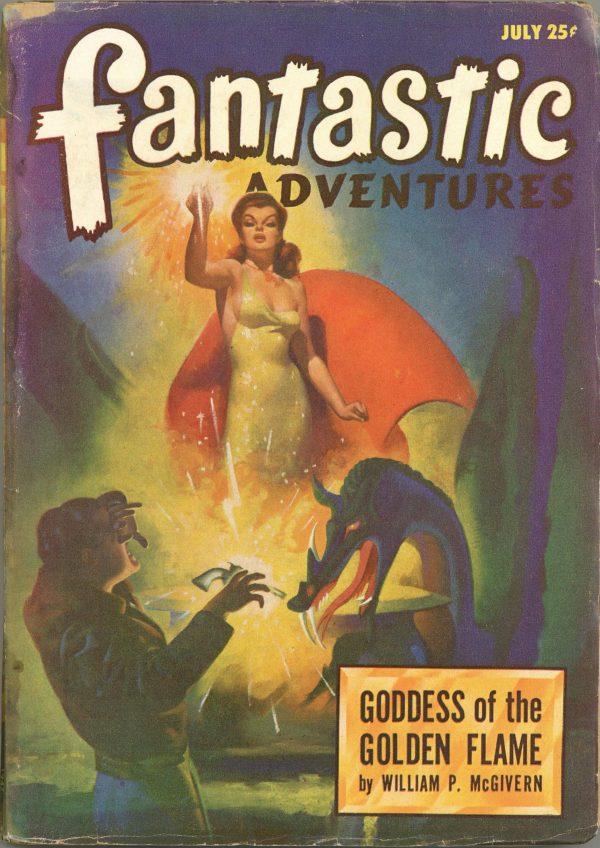 Fantastic Adventures July 1947