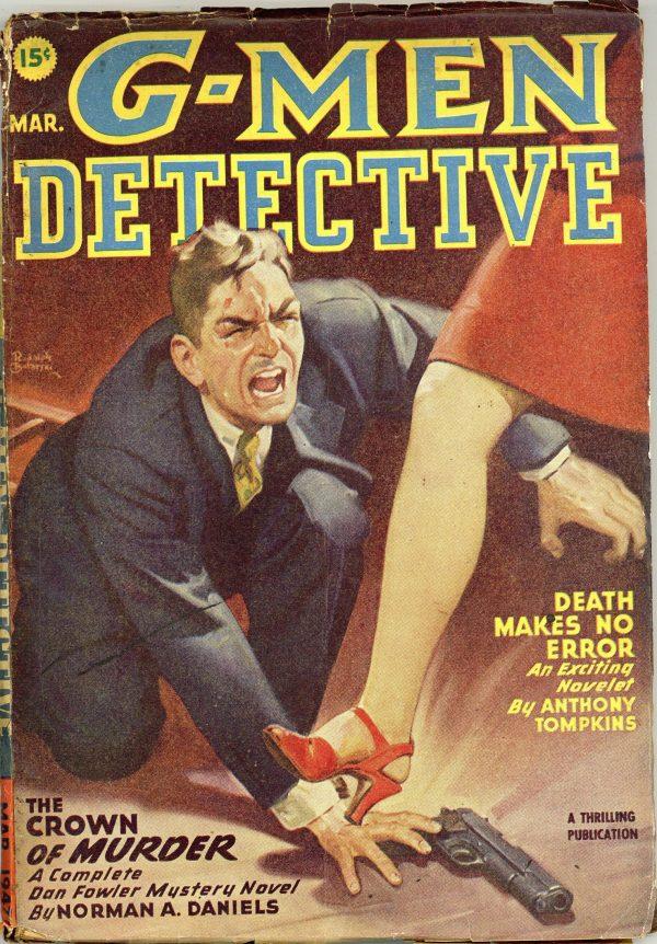 G-Men Detective March 1947