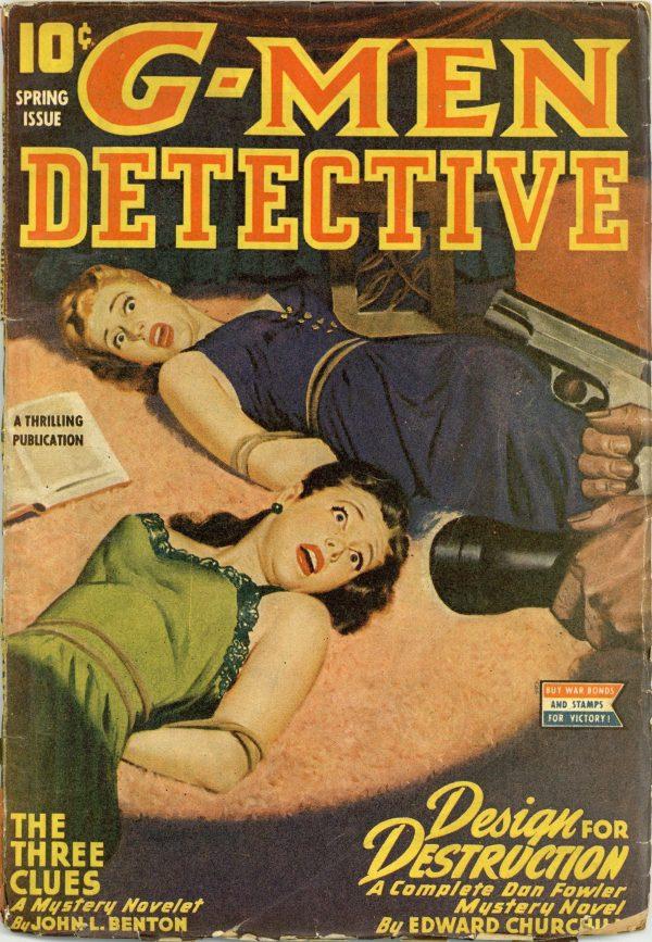 G-Men Detective Pulp March 1945