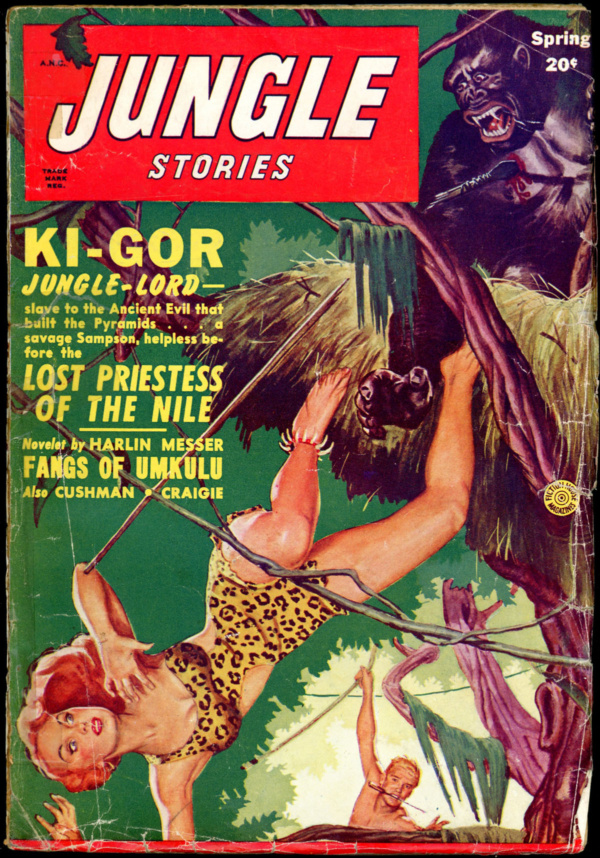 JUNGLE STORIES. Spring 1950