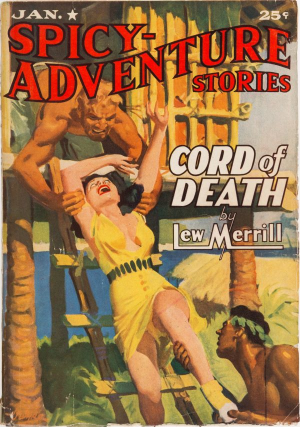 January 1941 Spicy Adventure Stories