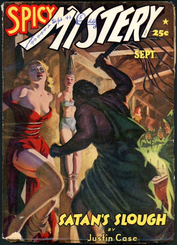 SPICY MYSTERY STORIES. September 1942