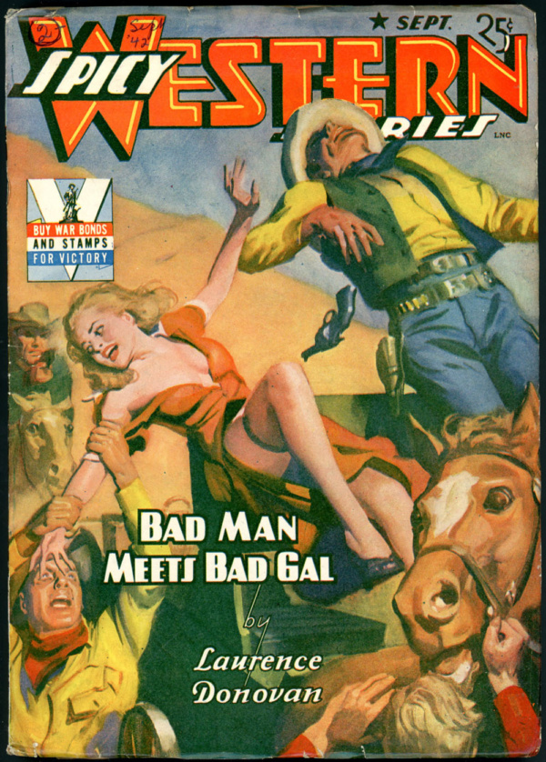 SPICY WESTERN STORIES. September 1942