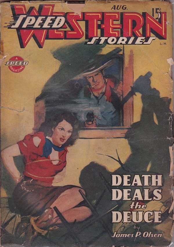 Speed Western Stories August 1944