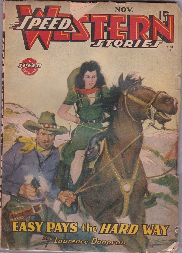 Speed Western Stories November 1944