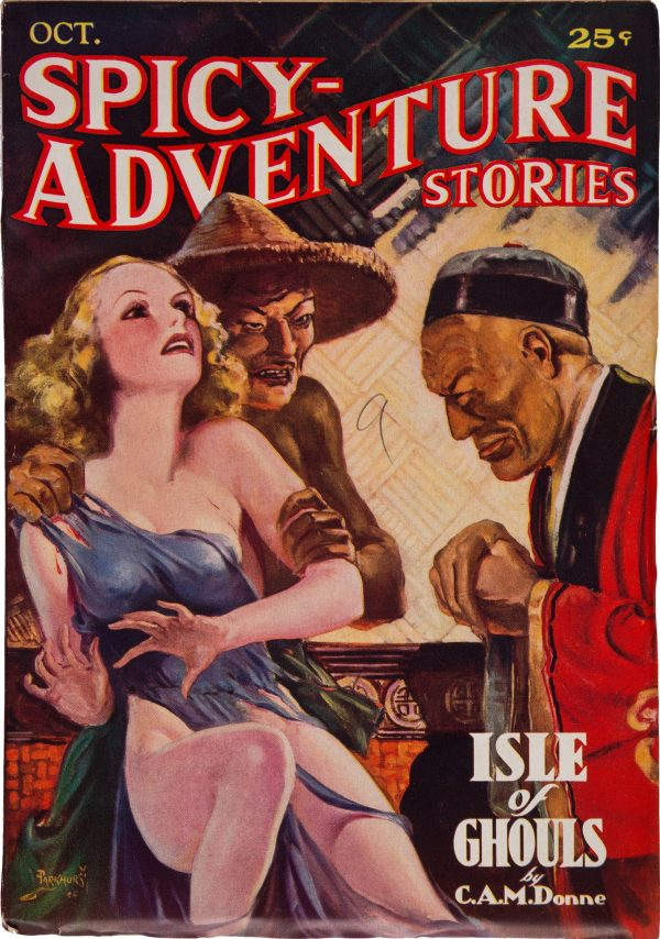 Spicy Adventure - October 1935