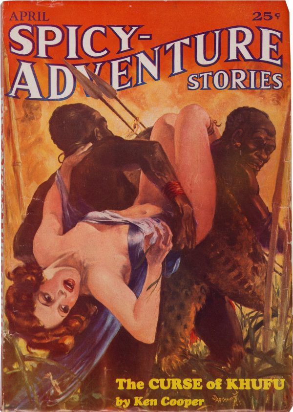 Spicy Adventure Stories - April 1935