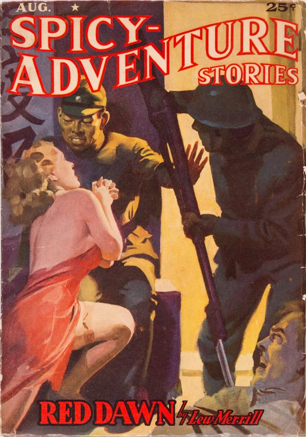 Spicy Adventure Stories - August 1939