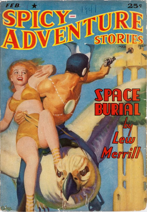 Spicy Adventure Stories - February 1941