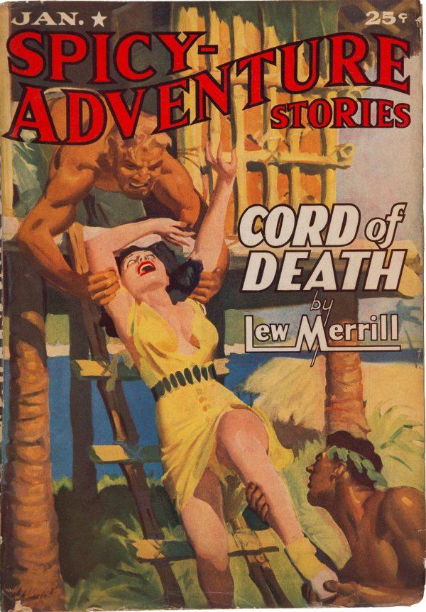 Spicy Adventure Stories - Jan 1941