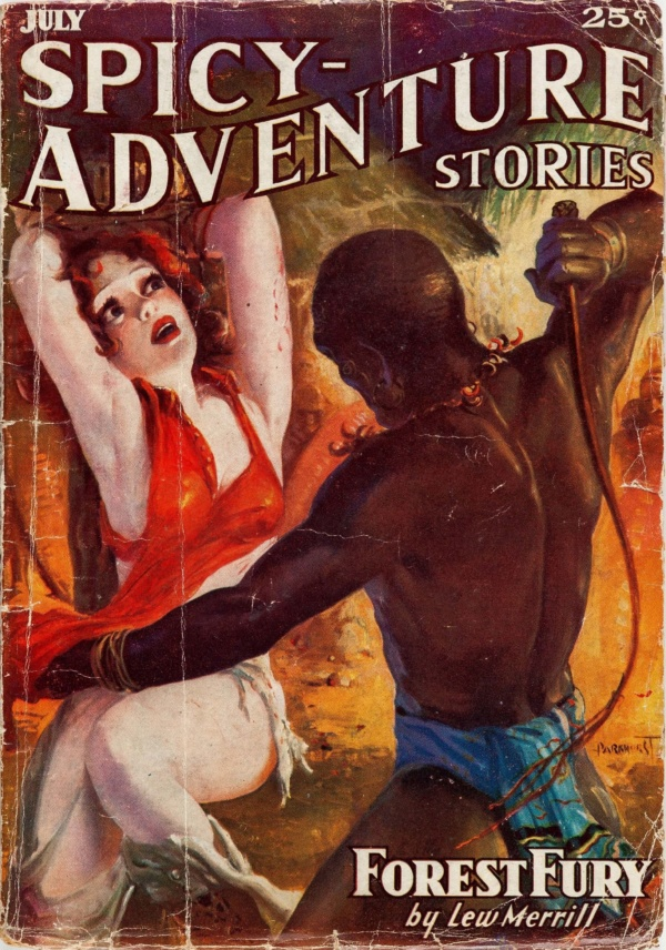 Spicy Adventure Stories - July 1936