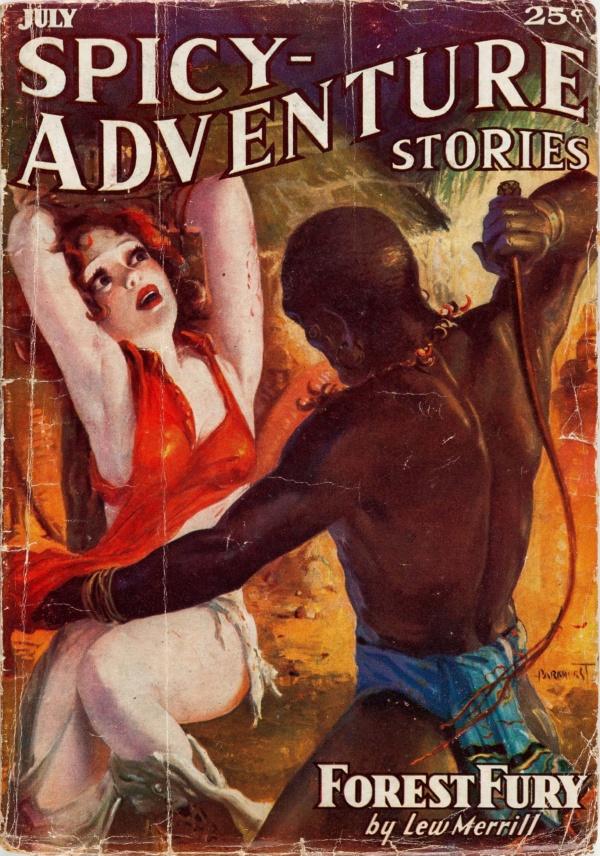 Spicy Adventure Stories - July 1936