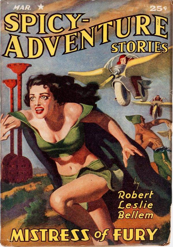 Spicy Adventure Stories - March 1942
