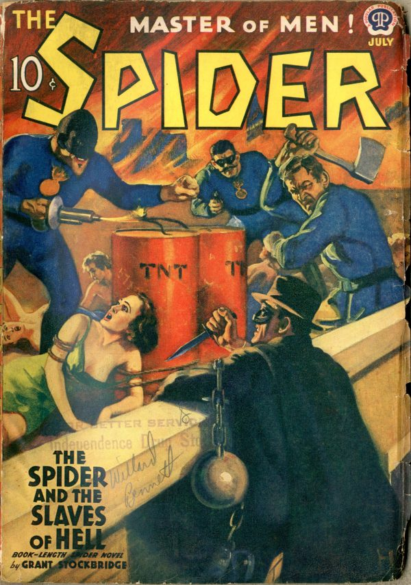 Spider July 1939
