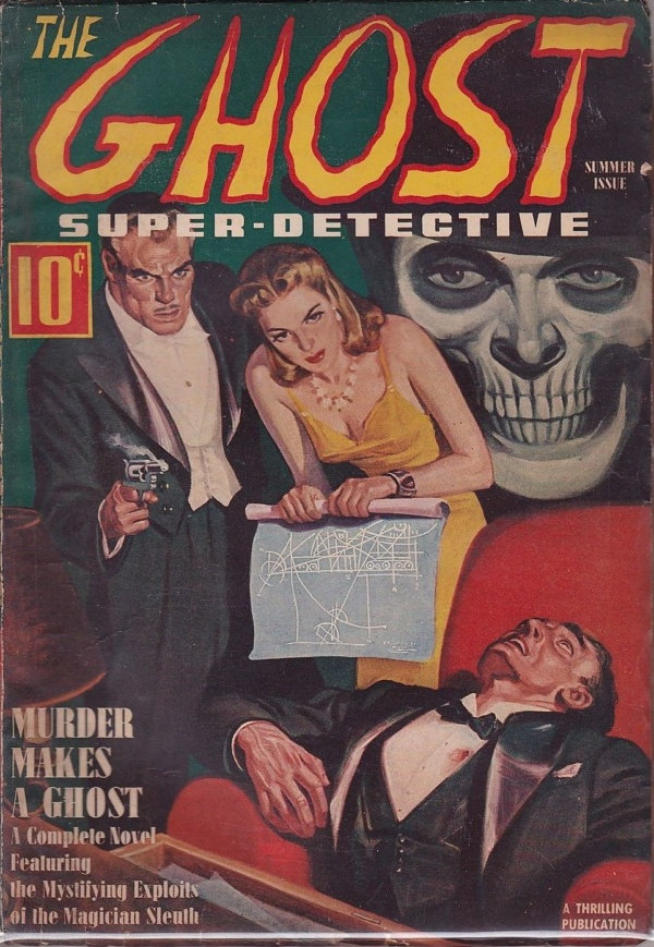 The Ghost Super-Detective Summer 1940