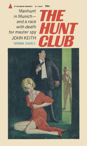 the-hunt-club-by-norman-daniels-pyramid-1964