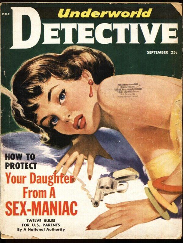 Underworld Detective 1952 September