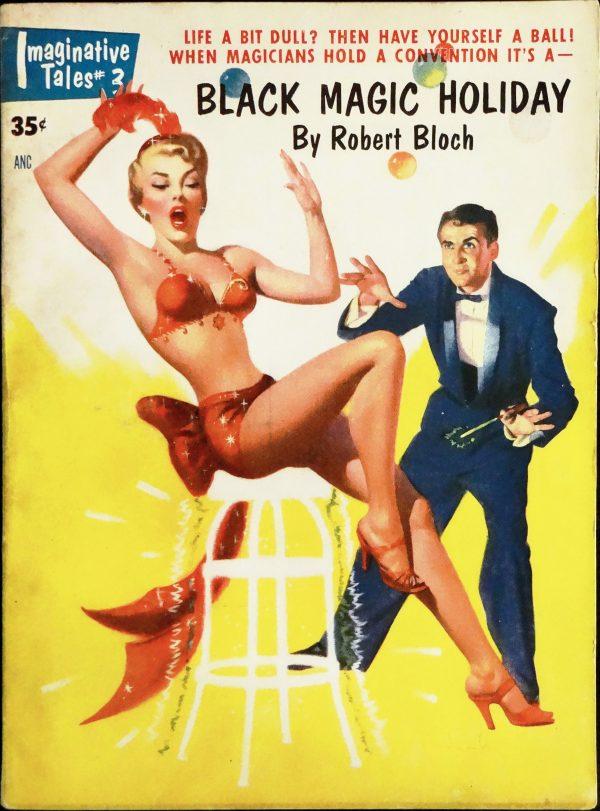 Imaginative Tales #3 (January 1955). Cover Art by Harold McCauley