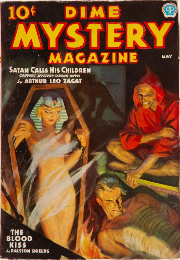 Dime Mystery Magazine - May 1937