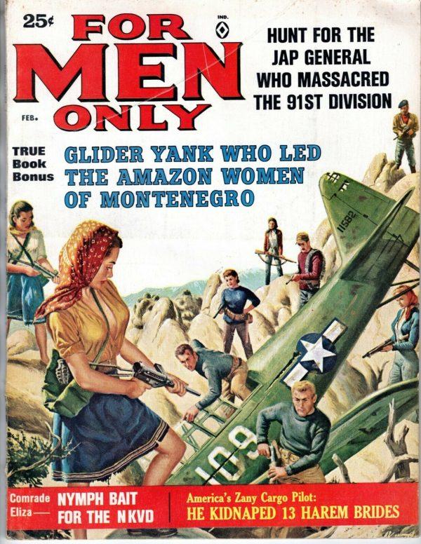 For Men Only February 1963