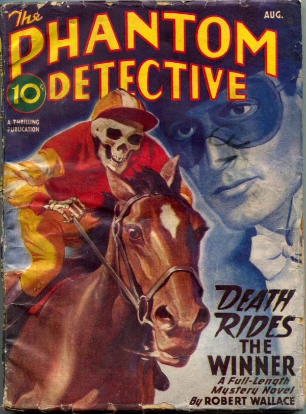 Phantom Detective Magazine August 1946