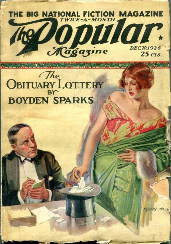 Popular Magazine December 20 1926