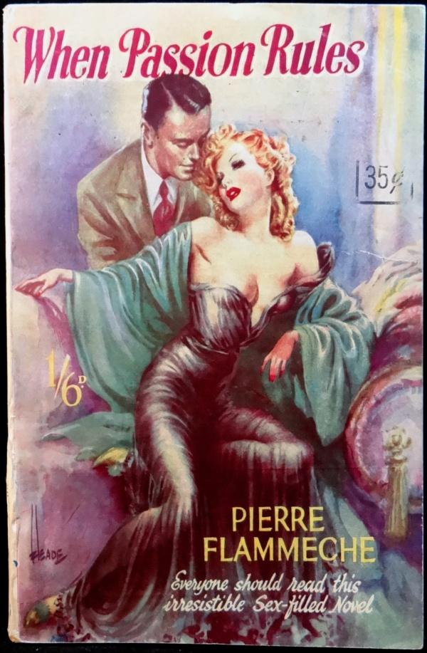 Archer Press Paperback Original (1950).  Cover Art by Heade