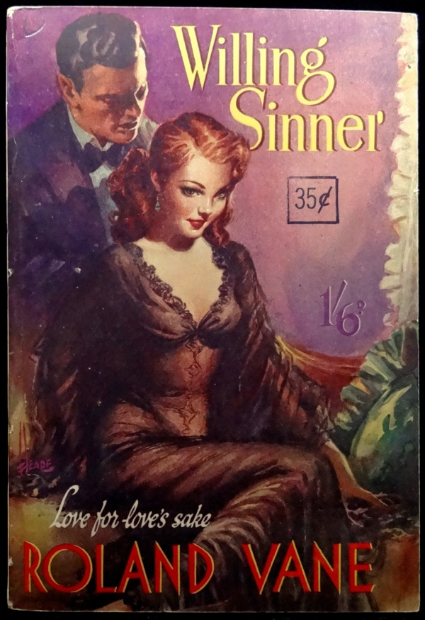 Archer Press Paperback Original (1952).  Cover Art by Reginald Heade