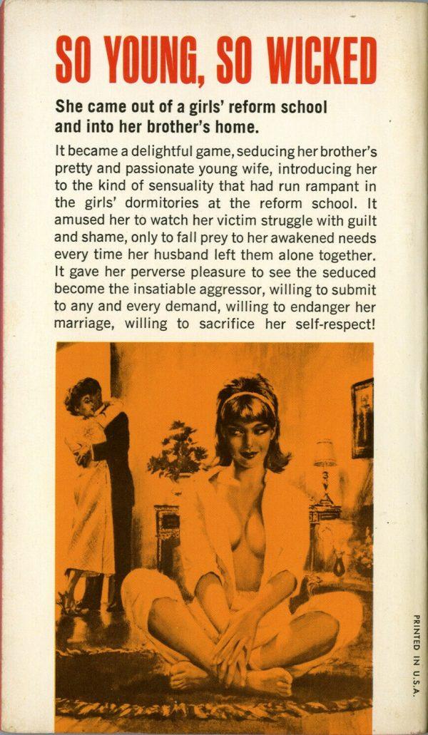 Midwood #32-506 1965 Back
