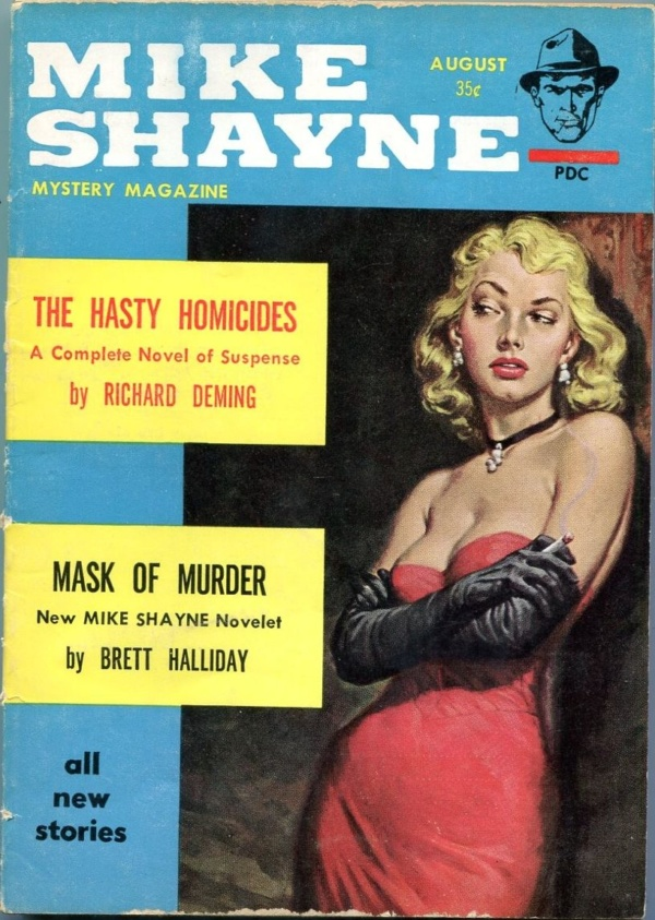 Mike Shayne Mystery August 1961