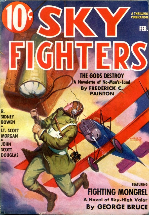 Sky Fighters February 1937