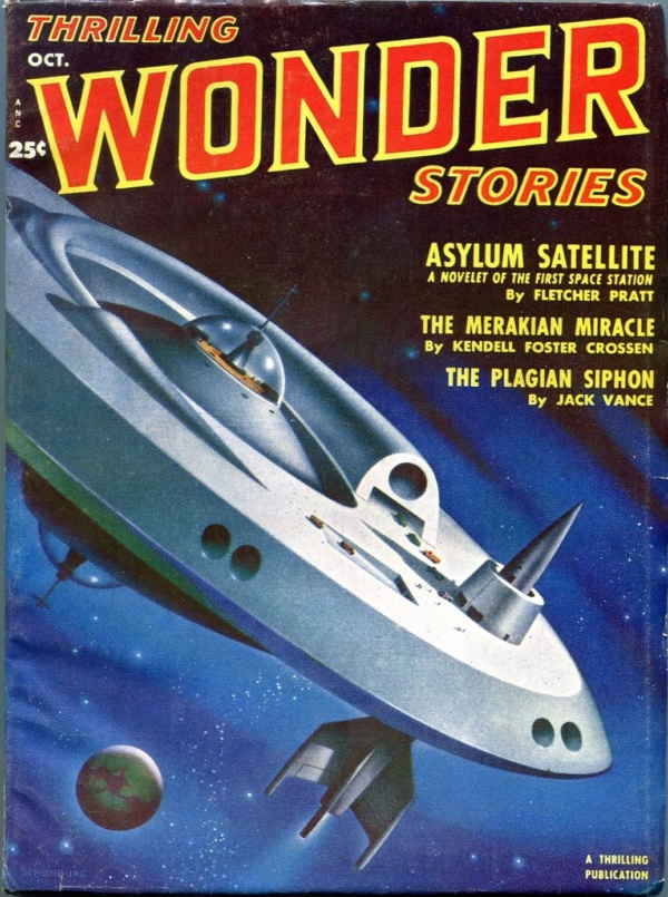 Thrilling Wonder Stories October 1951
