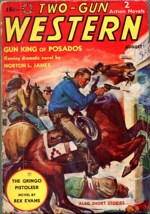 Two-Gun Western August 1938