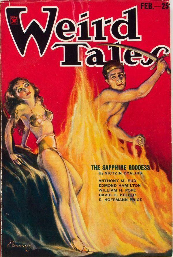 Weird Tales - February 1934