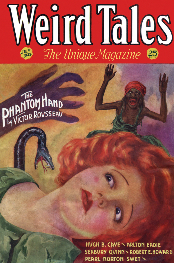 Weird Tales, July 1932