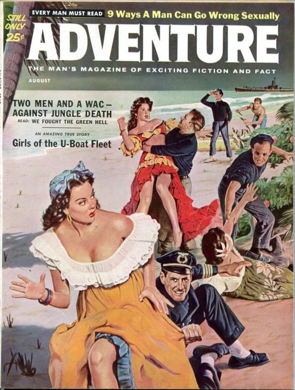 Adventure August 1960