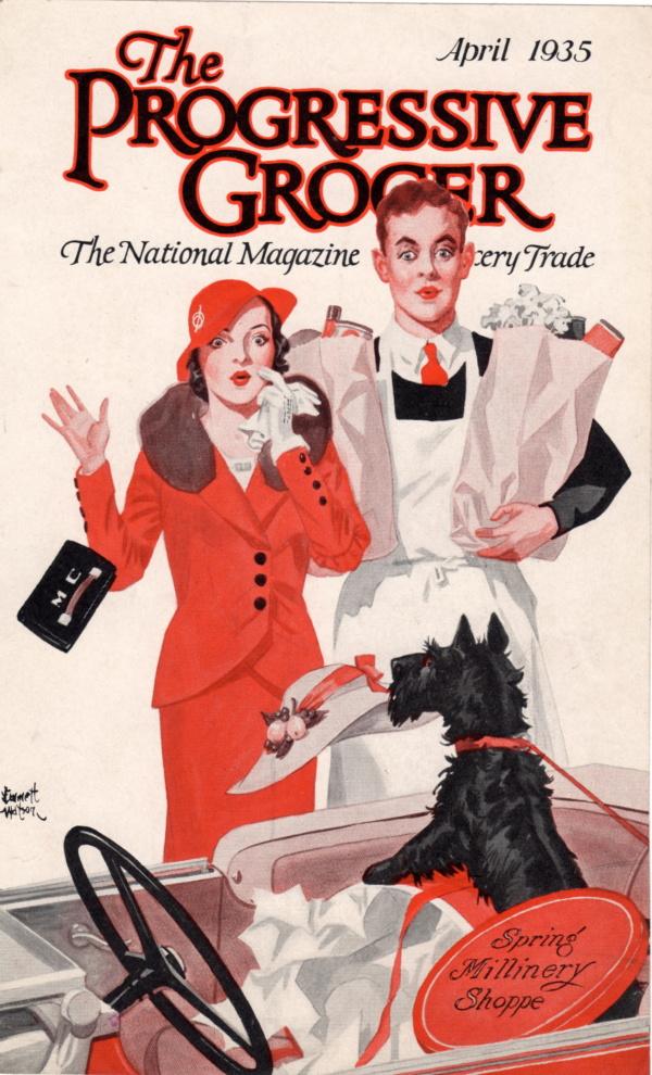 April 1935 Progressive Grocer